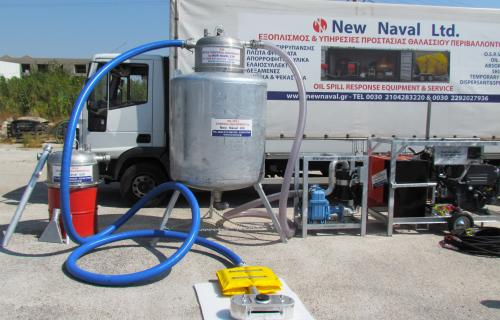New Naval ScorVac 12L Oil Recovery Vacuum 03