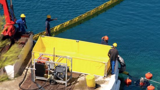 Oil Bunkering Operations Spill Prevention