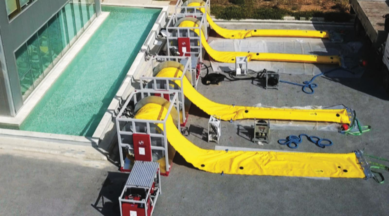 FLOATING BOOMS CURTAIN BOOMS OIL SPILL BOOMS CONTAINMENT BOOMS OSR EQUIPMENT